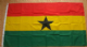 Ghana Large Country Flag - 3' x 2'.